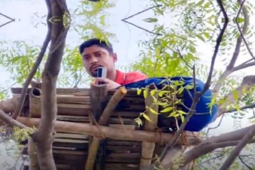 સુબ્રતએ પીટીઆઈને જણાવ્યું હતું કે, જ્યારે તેમણે ઝાડ ઉપર ચડીને જોયું તો તેમના ફોનમાં સારી રીતે નેટવર્ક આવતું હતું. પછી તેમણે DIY (Do it Yourself) ટેક્નિક અપનાવી હતી. ગામમાં પોતાના દોસ્તોની મદદથી સુબ્રતો વાંસની દોરડાઓ અને ઘાંસ વડે એક પ્લેટફોર્મ બનાવ્યો હતો. અને ઘર પાસે આવેલા એક લિંમડાના ઝાડ ઉપર એક માંચડો બનાવ્યો હતો.