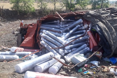 મધ્યપ્રદેશમાં મજૂરોને લઇ જતી ટ્રક પલટી, 5નાં મોત 15 ઇજાગ્રસ્ત