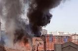 રાજકોટ : કેરીની બઝારમાં ભડભડ સળગ્યો ટ્રક, આગના તાંડવનો Live video