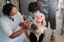 વડોદરા : 4 વર્ષની 'પરી'એ કોરોનાને હરાવ્યો, હૉસ્પિટલ સ્ટાફે યાદગાર વિદાય આપી