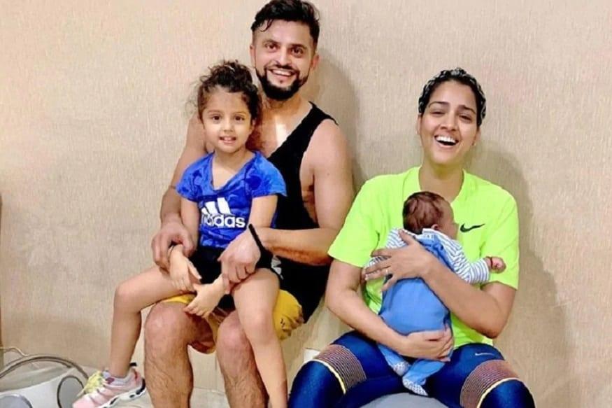 ઉલ્લેખનીય છે કે આ વર્ષે માર્ચમાં જ રૈના ફરીથી પિતા બન્યા છે. માર્ચમાં પ્રિયંકાએ પુત્ર રિયોને જન્મ આપ્યો છે. આ ફેમીલી તસવીરમાં પણ જોઇ શકાય છે કે ગ્રાસિયા એડિડાસની ટિસર્ટ અને સ્પોર્ટ સુઝમાં છે. આમ બાપ દીકરીને બંનેને ફિટનેશનો શોખ છે તે પ્રિયંકાની વાત અહીં પણ સાચી સાબિત થતી લાગે છે.