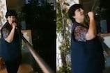 ફાલ્ગુની પાઠકે પડોશીઓ માટે બાલ્કનીમાં ઊભા રહી ગાયું આ મધુરું ગીત, Video Viral