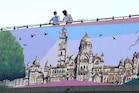 વડોદરાનાં વિદ્યાર્થીઓએ બનાવ્યું 1500 ફૂટનું વિશાળ ચિત્ર, જોઇ લો તસવીરો