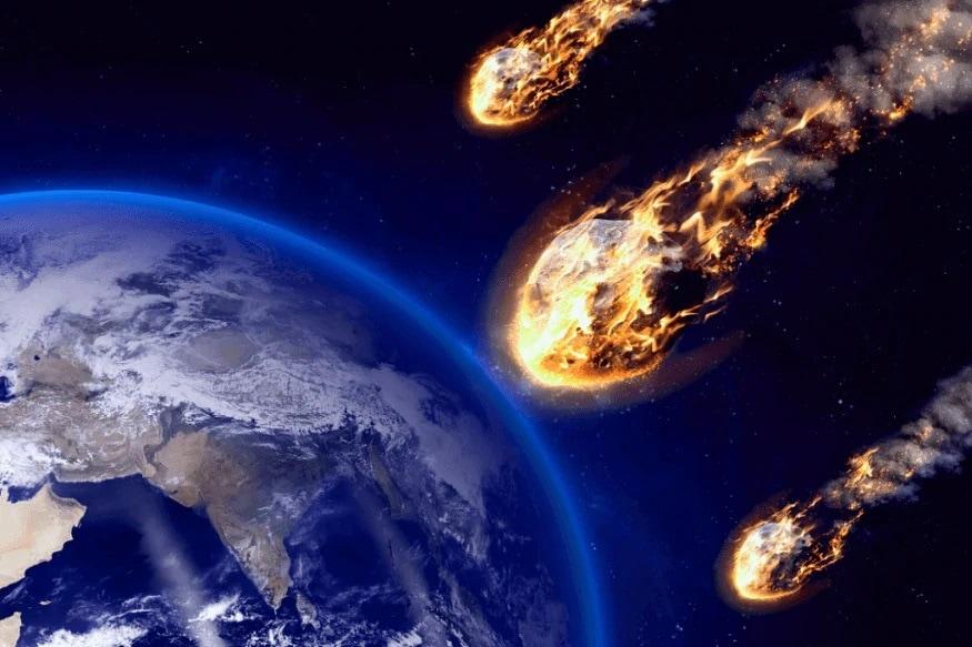 આ Asteroids માટે અંતરીક્ષ એજન્સી નાસા તરફથી એલર્ટ જાહેર કરવામાં આવ્યું છે. નાસાએ કહ્યું કે, તેમાંથી 8 નીયર અર્થ ઓબજેક્ટ્સ ધરતીની એકદમ નજીકથી 5 જૂનથી આ અઠવાડીએ પસાર થશે. આ મામલે જાણકારી આપતા સેન્ટર ફોર નીયર અર્થ ઓબજેક્ટ્સ સ્ટડીઝે (CNEOS) કહ્યું કે, 5 જૂનથી એટલે કે, આજથી એસ્ટરોયડ્સ 2020 કેએન-5 ધરતી પાસેથી પસાર થશે. (ફોટો સાભાર - ટ્વીટર/@Sciencenews18HQ))