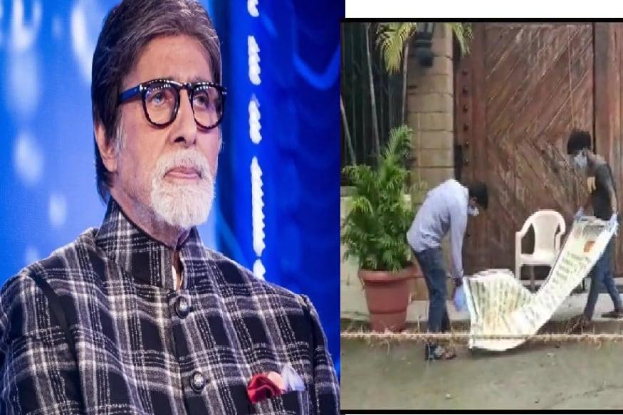 એન્ટરટેઇન્મેન્ટ ડેસ્ક: બૃહન્મુંબઇ મહાનગર પાલિકા (BMC) દ્વારા અમિતાભ બચ્ચન (Amitabh Bachchan)નાં બંગલા પરથી કન્ટેનમેન્ટ ઝોનનું પોસ્ટર હટાવી લેવામાં આવ્યું છે. અમિતાભ બચ્ચનનાં નિવાસ સ્થાન જલસા (Jalsa)ની બહાર પોસ્ટર લગાવીને તેને કન્ટેનમેન્ટ ઝોન જાહેર કરવામાં આવ્યો હતો.