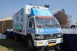 ગાંધીનગર લોકસભા ક્ષેત્રમાં એક મહિનામાં ધન્વતરી રથ મારફતે 1 લાખથી વધુ દર્દીઓને તપાસાયા