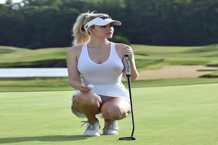 Golfer Paige Spiranac opens up on naked leaked photo that