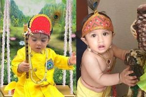 #Photos : કૃષ્ણની જેમ તૈયાર થઇને સોશિયલ મીડિયા પર છવાયા TV સ્ટાર કિડ્સ