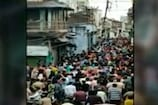 ખંભાતમાં કોરોનાના નિયમોના જાહેરમાં ધજાગરા! મહોરમના જુલુસમાં 2,000થી વધુ લોકો ઉમટ્યાં