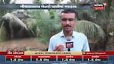 Gir Somnathમાં ભારે વરસાદના કારણે ખેતરોમાં ભરાયા પાણી, ખેડૂતોના પાકને ભારે નુકસાન