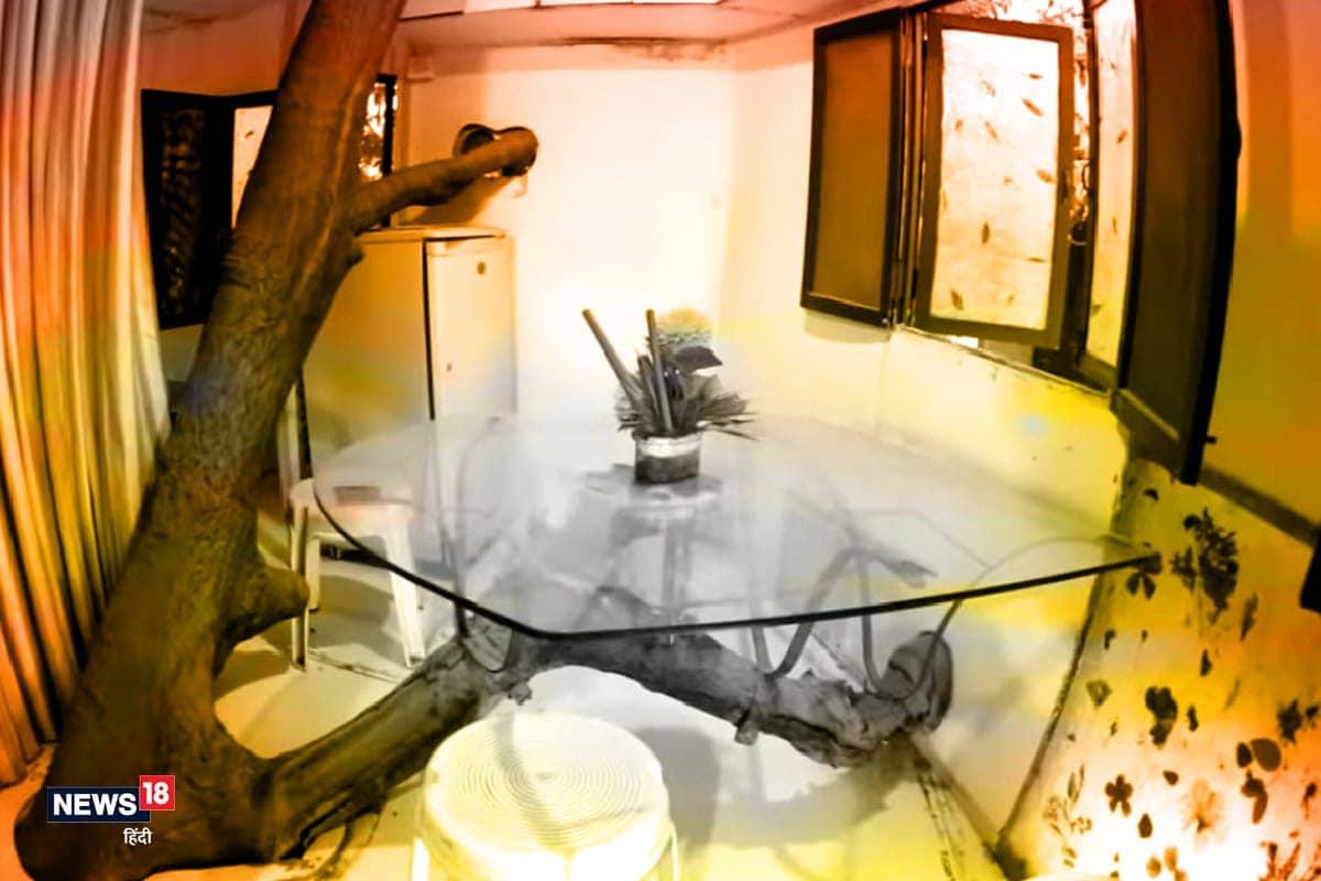 આ ટ્રી હાઉસની ખાસ વાત છે કે તેમાં ક્યાંય લાકડીનો ઉપયોગ નથી કર્યો. સ્ટીલનું સ્ટ્રકચર, સેલ્યૂલર શીટ અને ફાઇબરનો જ ઉપયોગ કરવામાં આવ્યો છે.