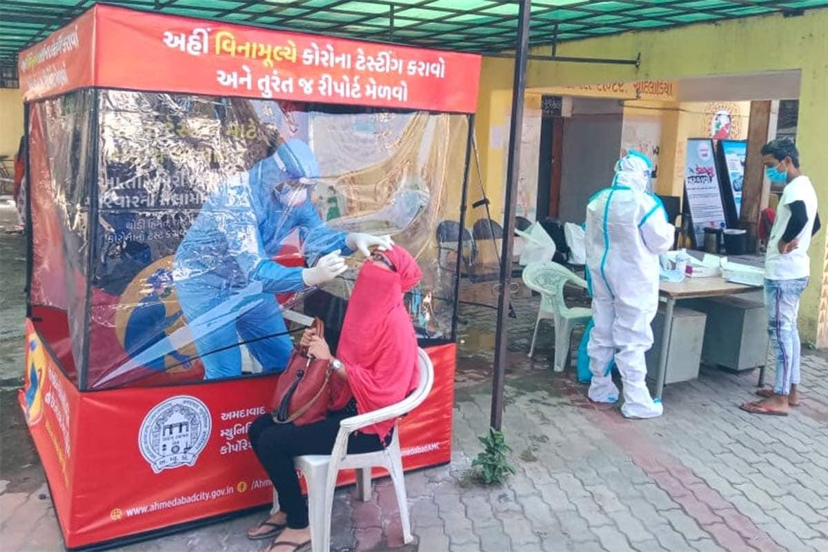 ગુજરાતમાં હાલમાં કુલ 16073 એક્ટિવ કેસ છે, જ્યારે 89 દર્દી વેન્ટિલેટર પર છે. રાજ્યમાં આજે 62,338 ટેસ્ટ કરવામાં આવ્યા છે. આજના આંકડા મુજબ રાજ્યનો રિકવરી રેટ 85.19 ટકાએ પહોંચ્યો છે. (પ્રતીકાત્મક તસવીર)