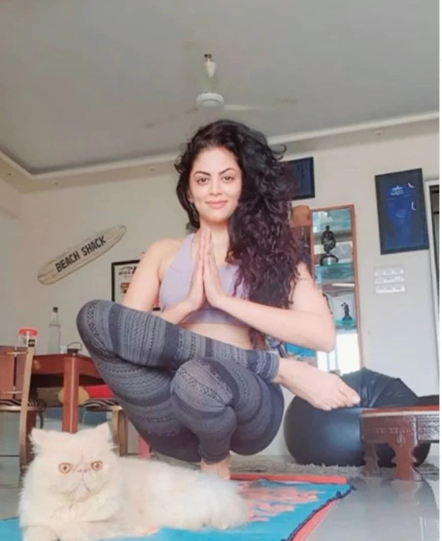 એક્ટર વ્રજેશ પણ કવિતાની ફોટો જોઇ કંન્ફ્યૂઝ થઇ ગયા હતાં. તે લખે છે, પગ ક્યાં છે, ગળુ ક્યાં છે, કોણી ક્યાં છે, ઘુટણ ક્યાં, હાથની આંગળીઓ ક્યાં, પગની આંગળીઓ ક્યાં. ક્યાં છે બધા. (PHOTO- @ikavitakaushik/Instagram)