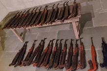 BSFની મોટી કાર્યવાહી, મિઝોરમમાં હથિયારોની મોટી ખેપ સાથે 3 ઉગ્રવાદી ઝડપાયા
