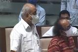 ગુજરાત વિધાનસભામાં હંગામો, નીતિન પટેલે સાથે વિવાદ થતા કોંગી ધારાસભ્યએ ગૃહમાં માઇક ફેંક્યુ