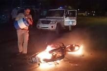 વડોદરામાં રાત્રે જૂથ અથડામણ, ટોળાએ પોલીસની બાઇક સળગાવીને પથ્થરમારો કર્યો
