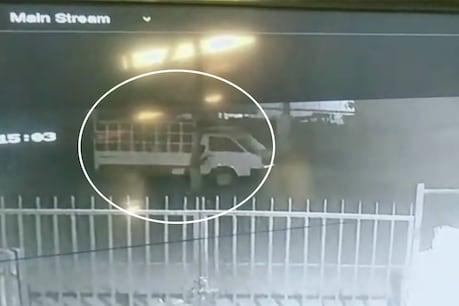વાપી: ટેમ્પાની ચોરી CCTVમાં કેદ, જુઓ ગઠિયા કેવી રીતે લોક તોડીને ટેમ્પાને હંકારી ગયા