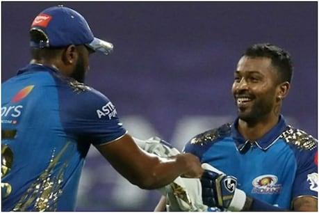 IPL 2020: ધમાકેદાર જીત બાદ હાર્દિક પંડ્યાએ કહ્યું- 20મી ઓવરમાં સ્પિનરને જોયો તો 'મોંમાં પાણી આવી ગયું'
