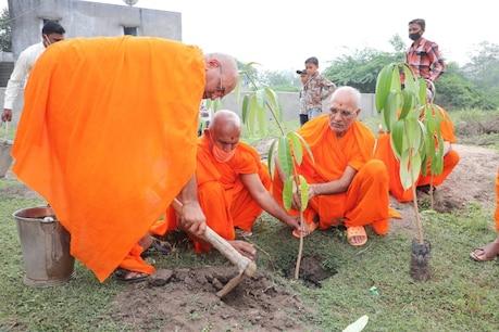 શ્રી સ્વામિનારાયણ મંદિર, શનિયાડાનો પંચમ વાર્ષિકોત્સવ ઊજવાયો, વૃક્ષારોપણ કરાયું
