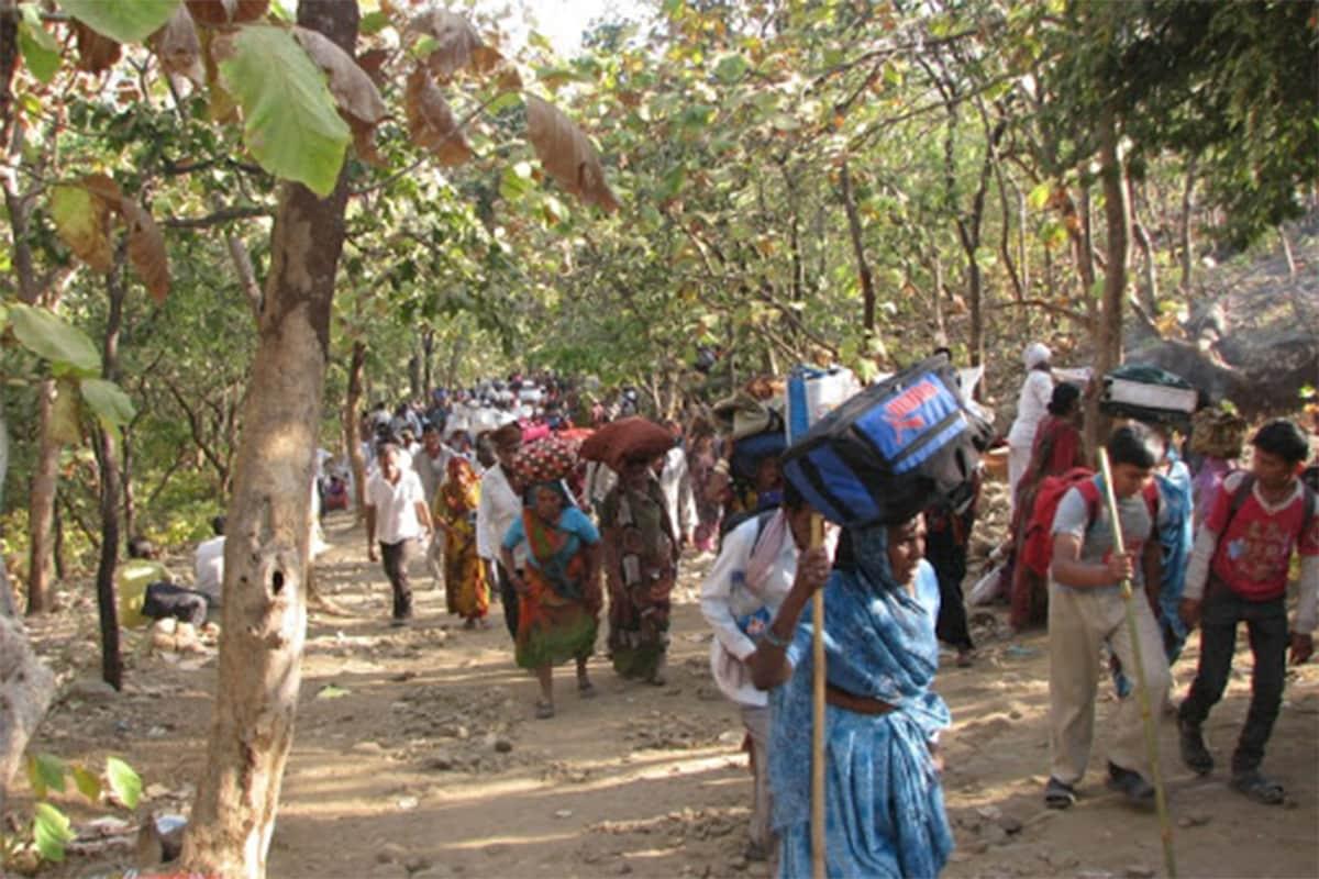 જૂનાગઢ: આ વર્ષે દરેક તહેવારોને કોરોનાનું ગ્રહણ (Corona Pandemic) લાગી ગયું છે. કોરોનાને કારણે ગુજરાતનો સૌથી મોટો ઉત્સવ એટલે કે નવરાત્રી (Navratri 2020)ને પણ મંજૂરી આપવામાં આવી ન હતી. દિવાળી (Diwali 2020)ના તહેવાર માટે પણ સરકારે ખાસ ગાઇડલાઈન (Festival Guidelines) બહાર પાડી હતી. હવે ગિરનારમાં દર વર્ષે દેવદિવાળી (Dev-Diwali)ના દિવસથી યોજાતી લીલી પરિક્રમા (Lili Parikrama- Junagadh)ને કોરોનાનું ગ્રહણ લાગી ગયું છે.