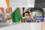 દિલ્હીને ડ્રાઇવરલેસ મેટ્રોની ભેટ, PM મોદીએ કહ્યુ- 2025 સુધી 25 શહેરમાં મેટ્રોનું લક્ષ્ય