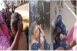 બનસકાંઠાઃ મેપડા ગામમાં નકલી વ્યંડળની શખ્સ લોકોએ પકડ્યો, અસલી વ્યંડળઓએ જાહેરમાં કરી ધોલાઈ
