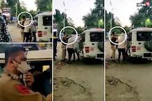 અમદાવાદના પોલીસકર્મીનો 'પાવર': માસ્કના દંડની રકઝકમાં વચ્ચે પડેલી યુવતીને લાફા ઝીંકી દીધા!