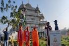 મણિનગરમાં શ્રી સ્વામિનારાયણ ગાદી મંદિરે પ્રજાસત્તાક દિનની ઉજવણી કરવામાં આવી