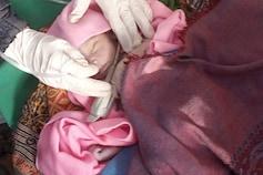 મહેસાણા: નવ ડીગ્રી કડકડતી ઠંડીમાં કોઈ નવજાતને કચરાના ઢગલામાં તરછોડી ગયું
