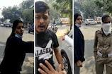 અમદાવાદ: માસ્ક અંગે દંડ માંગતા મહિલાએ પોલીસને લાફો ઝીંક્યો અને પતિએ ફેંટ મારી