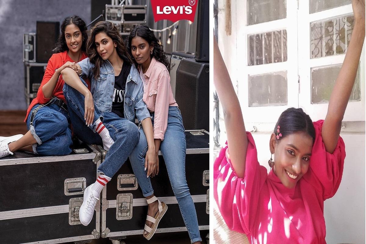 અમદાવાદી મોડલ રોઝલીન રાજ (Roselynn Raj) હાલમાં જ દીપિકા પાદુકોણની સાથે (Deepika Padukone)ની સાથે લિવાઇઝ (Levis)ની એડવર્ટાઝઇમેન્ટમાં ચમકી છે. લિવાઇઝની એડવર્ટાઇમેન્ટનો નવો વીડિયો અને તસવીરો ખુદ દીપિકા પાદુકોણે તેનાં ઇન્સ્ટાગ્રામ પેજ પર શેર કર્યા છે. જેમાં અમદાવાદી મોડલ રોઝલીન જોવા મળી રહી છે. (PHOTO: Roselynn Raj/ Instagram)