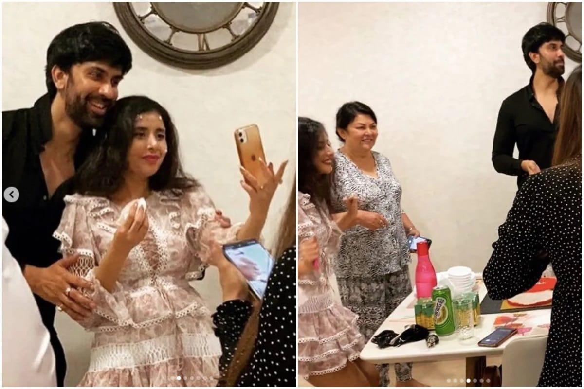 રાજીવ સેને તેની પત્ની ચારુ આસોપાના જન્મદિવસની ઉજવણીની તસવીરો 27 ફેબ્રુઆરી 2021ના રોજ તેમના ઓફિશિયલ ઇન્સ્ટાગ્રામ એકાઉન્ટ પર શેર કરી હતી. આ તસવીરોમાં ચારુ તેનો જન્મદિવસ પતિ અને કેટલાક નજીકના મિત્રો સાથે ઉજવણી કરતી જોવા મળી છે. (Instagram @Charuasopa)