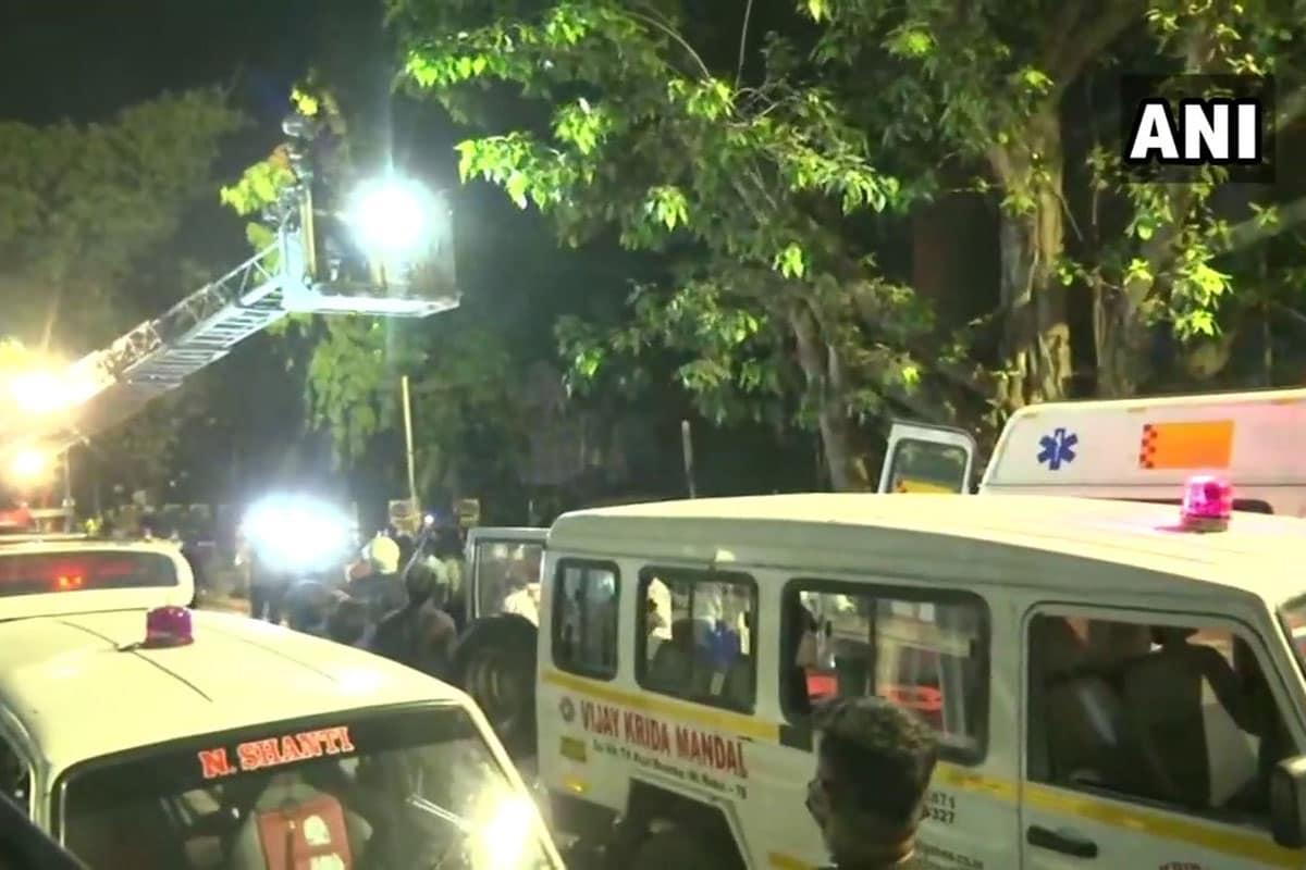 મુંબઈમાં મોલની અંદર આવેલી સનરાઇઝ હૉસ્પિટલમાં લાગી આગ, 10 લોકોનાં મોત