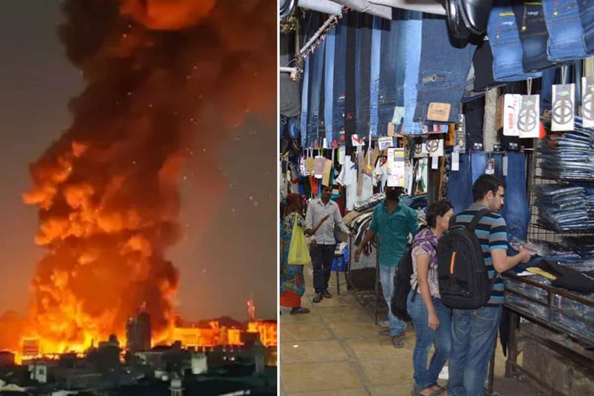 મહારાષ્ટ્ર: પુણેની ફેશન સ્ટ્રીટ માર્કટમાં ભીષણ આગ, 500 દુકાન બળીને ખાખ