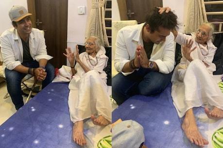 PM મોદીની માતાને મળ્યો સિંગર જુબિન નોટિયાલ, ફોટો શેર કરી લખ્યો ખાસ મેસેજ
