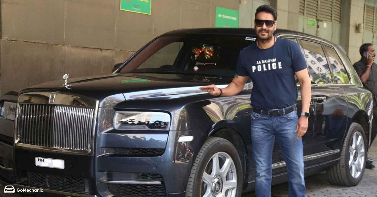 રોલ્સ રોયનો માલિક છે અજય- અજય દેવગણની ગાડીઓનો કાફલો ઘણો મોટો છે. Rolls Royce Cullinan પણ તેનાં લિસ્ટમાં શામેલ છે. આ ગાડીનો ભાવ આશરે 7 કરોડ રૂપિયા છે. આ લક્ઝુરિયસ SUV કાર ખરીદનાર અજય દેવગણ ત્રીજો ભારતીય છે.