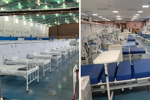અમદાવાદ : DRDOએ યુદ્ધના ધોરણે 900 બેડની કોવીડ હૉસ્પિટલ બનાવી, ગૃહમંત્રી શાહ કરશે નિરીક્ષણ
