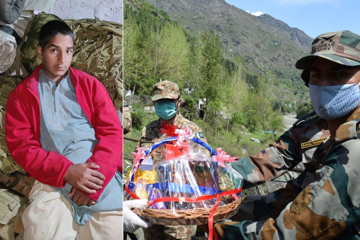 શ્રીનગર: સોમવારે ઉત્તર કાશ્મીર (North Kashmir)ના કુપવાડા જિલ્લાના સધપુરા વિસ્તાર (Sadhpora area)માં એક 13 વર્ષનો પાકિસ્તાની કિશોર ભૂલથી એલઓસી (Line of Control) પાર કરીને ભારતીય સરહદમાં આવી ગયો હતો. યોગ્ય તપાસ બાદ આ બાળકને બુધવારે તીતવાલ ક્રોસિંગ પોઇન્ટ (Teetwal crossing point) ખાતે પાકિસ્તાનના અધિકારીઓને સોંપી દેવામાં આવ્યો હતો. ઉલ્લેખનીય છે કે થોડા દિવસ પહેલા પણ આવી બનાવ બન્યો હતો. જેમાં એક નાની ઉંમરનો એક બાળક મેલા ઘેલા કપડાં પહેરેલી હાલતમાં ભારતીય સરહદમાં પહોંચી ગયો હતો. તેને પણ યોગ્ય પ્રક્રિયા બાદ પાકિસ્તાનને પરત સોંપી દેવામાં આવ્યો હતો.