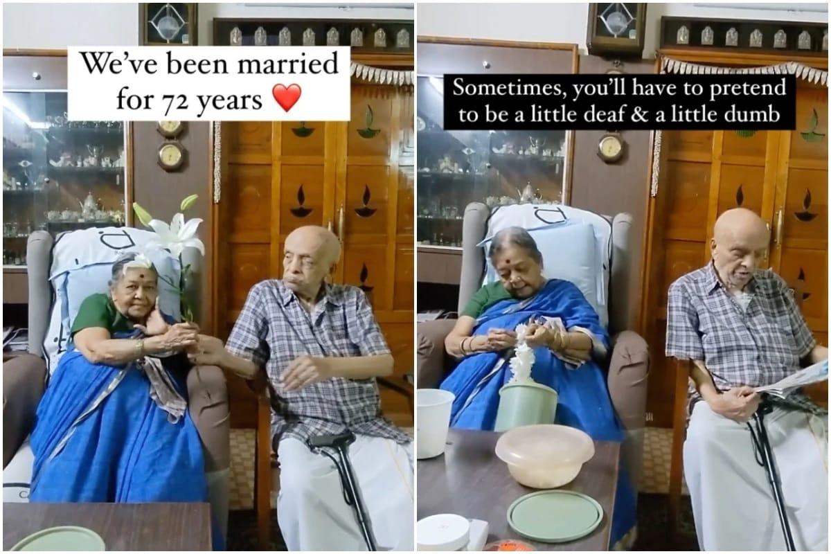 દેશી કપલે 72 વર્ષના સફળ વૈવાહિક જીવનના સિક્રેટ કર્યા શેર, Video ઇન્ટરનેટ પર મચાવી રહ્યો છે ધૂમ