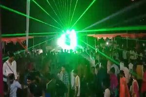 ગોધરા: BJP નેતાના પુત્રના લગ્નની વિધિમાં ડીજેના તાલે નાચ્યા લોકો, કોરોના ગાઇડલાઇનના ધજાગરા