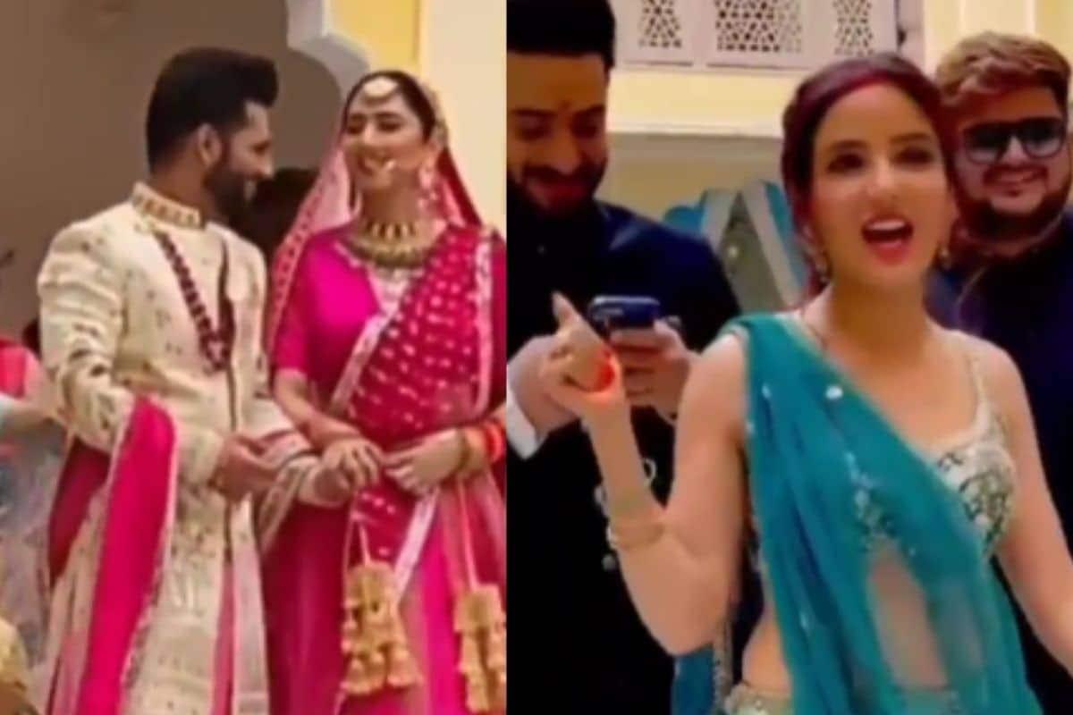રાહુલ વૈદ્ય- દિશા પરમારનાં લગ્નમાં VIDEO આવ્યો સામે, અલી-જેસ્મિન પણ આવ્યા નજર