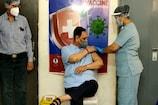 ગાંધીનગર: મુખ્યમંત્રી વિજય રૂપાણીએ કોરોના વેક્સીનનો પ્રથમ ડોઝ લીધો