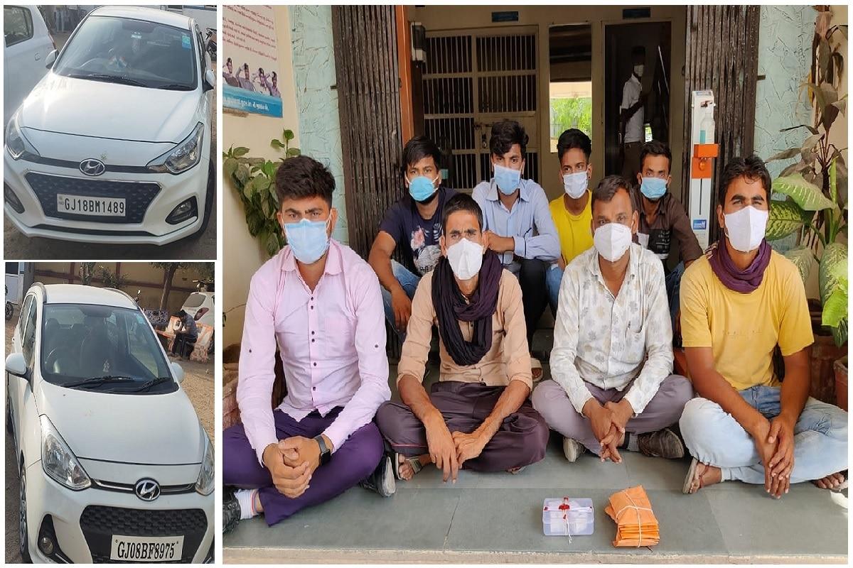આનંદ જયસ્વાલ, બનાસકાંઠા: રેમડેસીવર ઇન્જેક્શન કૌભાંડ (Remdesivir injection) મામલે આજે બનાસકાંઠા (Banaskantha) જિલ્લા એલસીબીની ટીમે (LCB team) ડીસા પાસેથી આઠ શખ્સોને ઝડપી પાડયા છે. અમદાવાદથી (Ahmedabad) ઈન્જેકશન વેચવા માટે આવેલા અને ખરીદવા માટે આવેલા આઠ શખ્સોની ટોળકીને પોલીસે ઝડપી તેમની પાસેથી બે ઇન્જેક્શન, 2 કાર સહિત કુલ 6.22 લાખ રૂપિયાનો મુદ્દામાલ જપ્ત કરી વધુ કાર્યવાહી હાથ ધરી છે.