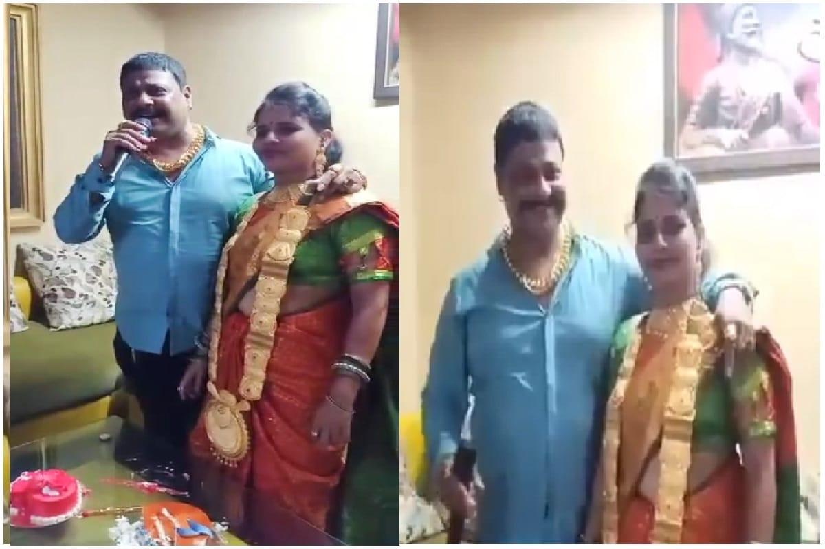 લગ્નની વર્ષગાંઠ પર પત્નીએ પહેર્યો એક કિલો સોનાનો હાર, પતિને પોલીસનું 'તેડું', કહીકત કંઈક અલગ જ નીકળી