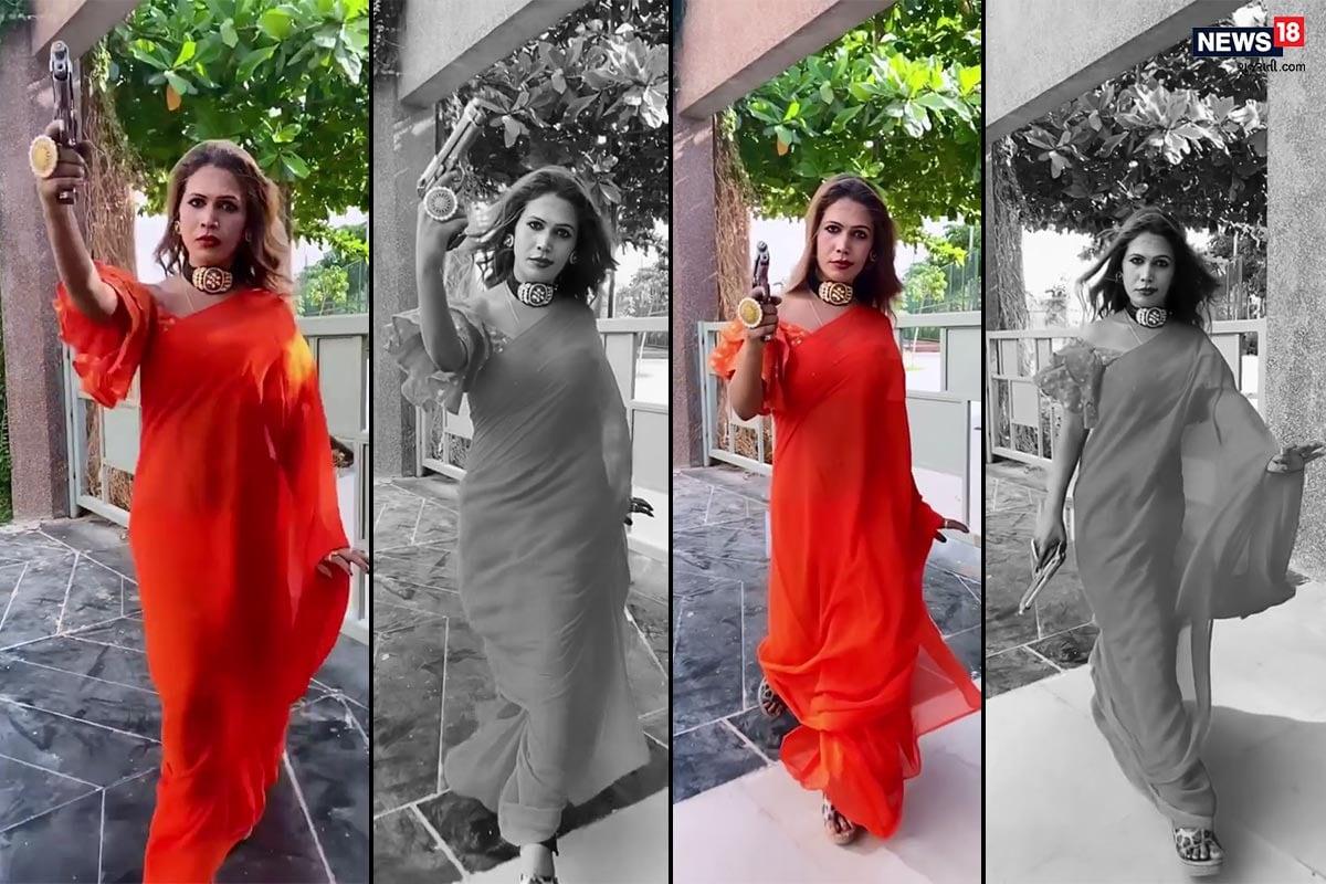સુરત : હાથમાં એરગન સાથે કિન્નર નિક્કીનો Video થયો Viral, ઇન્સ્ટામાં છે 51 હજાર ફોલૉવર