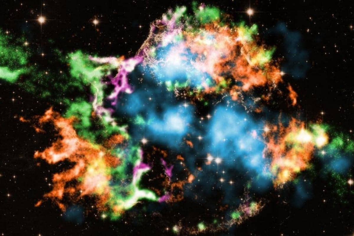 તારાના અંત પહેલાની તસવીર નાસાના હબલ ટેલિસ્કોપમાં કેપ્ચર થઈ
