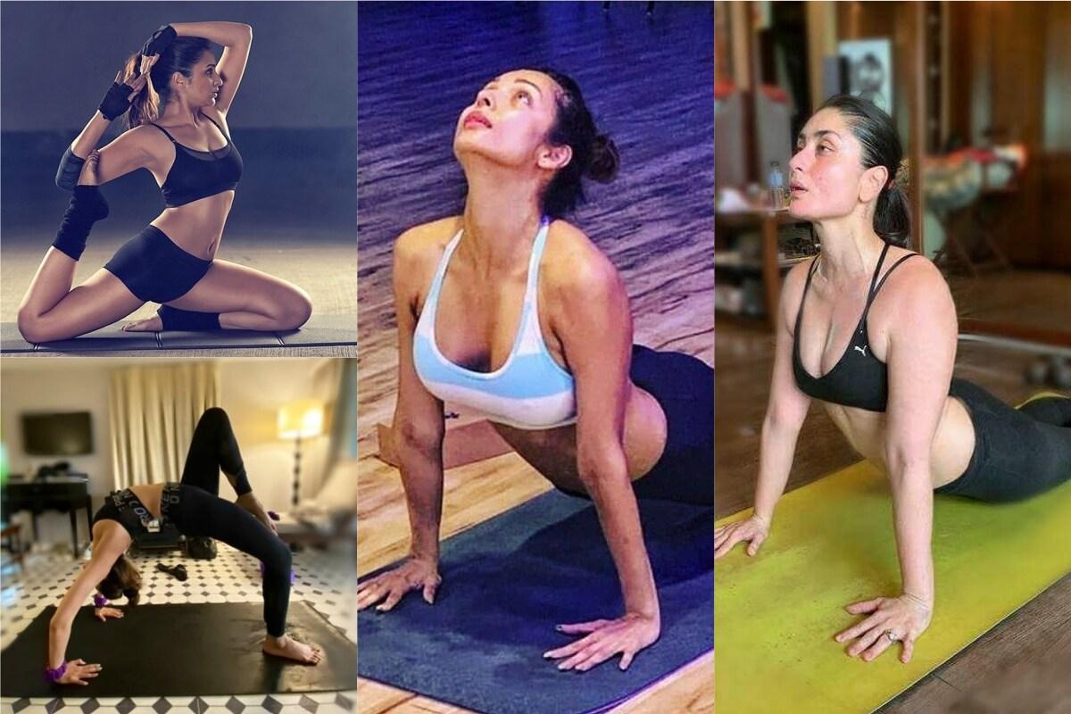 આજે એટલે કે 21 જૂનનાં આપણે સાતમો યોગ દિવસ (Yoga Day) ઉજવી રહ્યાં છીએ. બોલિવૂડનો યોગ સાથે ઘણો જ ઉંડો સંબંધ છે. સેલિબ્રિટીઝ તેમનાં રોજિંદા જીવનમાં યોગને ખાસ મહત્વ આપે છે. ઘણી એવી બોલિવૂડની સુપર મોમ છએ જે ફિટનેસ મામલે પિસ્તાલિસી પાર કરી ગઇ છે. પણ તેમનાંથી અડધી ઉંમરની યુવતીઓને માત આપે છે. આ લિસ્ટમાં મલાઇકા અરોરા (Malaika Arora) હોય કે કરીના કપૂર ખાન (Kareena Kapoor Khan).