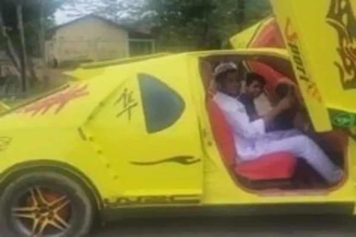 સ્પોર્ટ્સ કારનો હતો શોખ, તો Maruti Suzukiને જ બનાવી દીધી Lamborghini