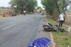 છોટાઉદેપુર: ટ્રકે બાઇક ચાલકને અડફેટે લેતા એકનું મોત, એક ગંભીર રીતે ઘાયલ
