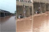 રાજકોટ: રાવકી નદીમાં કાર તણાઈ, નિવૃત બેંક કર્મચારીનું મોત, બે મહિલાને બચાવી લેવાઈ